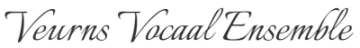 Veurns Vocaal Ensemble Logo
